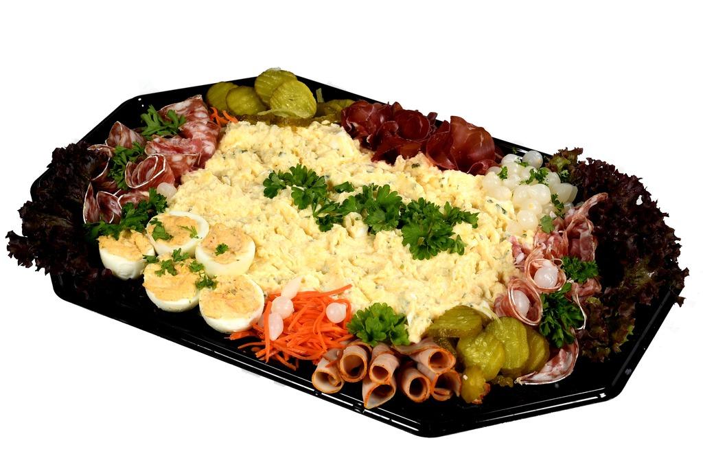 scharrel-ei salade