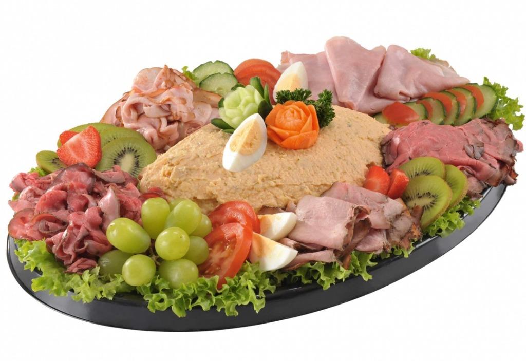 Salade & Vleeswarenschotel Vleessalade