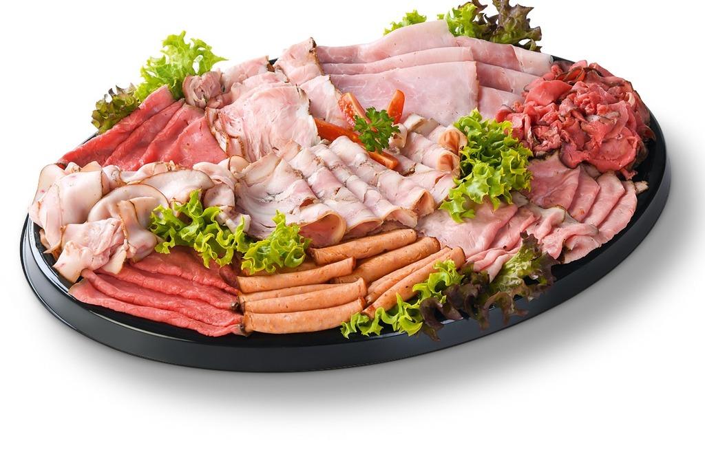 Luxe vleeswarenschotel