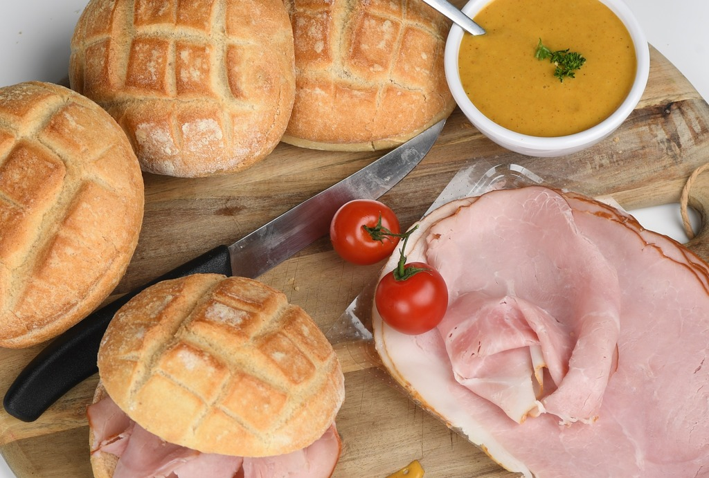 Broodjes warm vlees buffet
