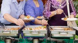 Koud & warm buffet