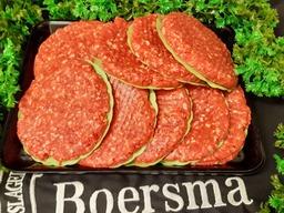 Big BBQ hamburger