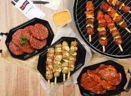 BBQ pakket populair
