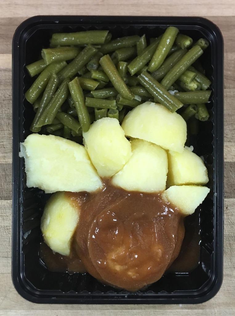 Boontjes met Hamburger - Klein