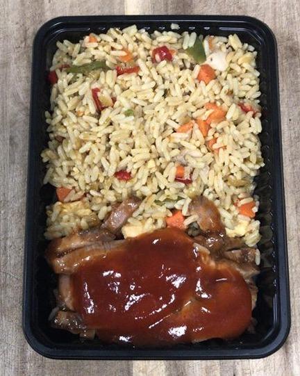 Nasi met Babi Pangang - Klein