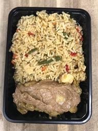 Nasi Kip Saté