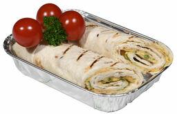 Chef's BBQ Selection Tortilla Wraps Cheddar en Mozzarella