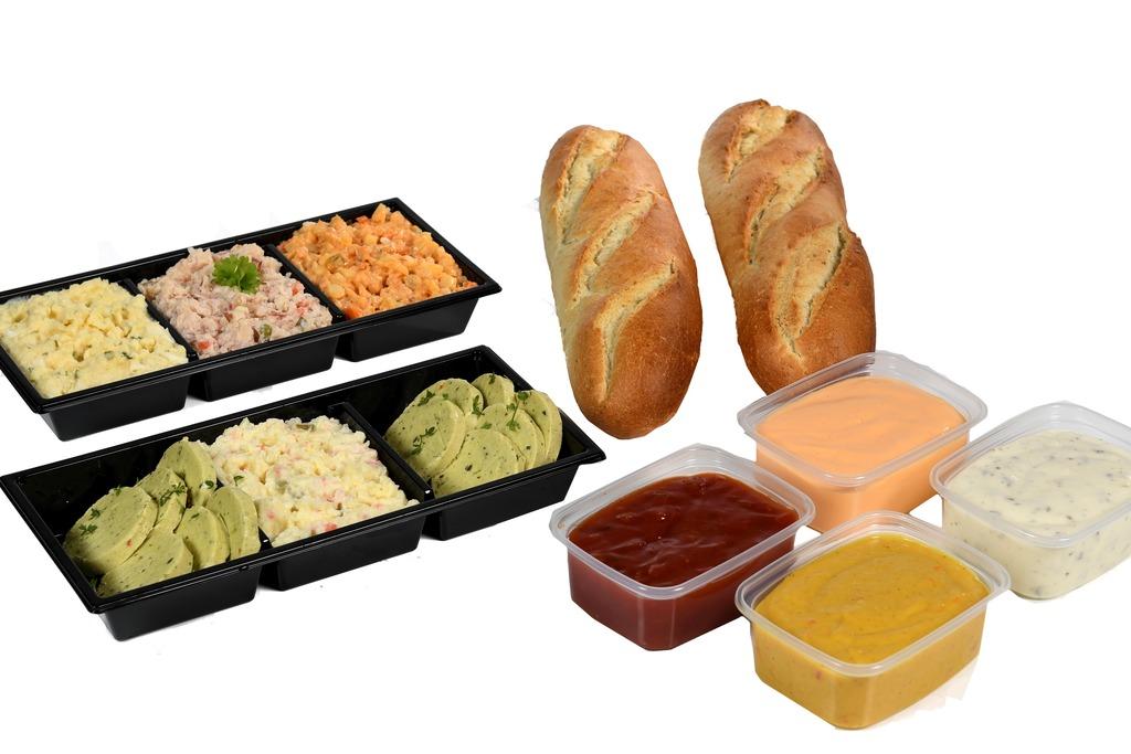 3. Gourmet compleet (v.a. 4 personen)