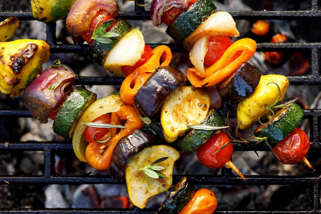 7. BBQ menu Vegetarisch