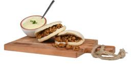 Shoarmapakket met saus en broodjes
