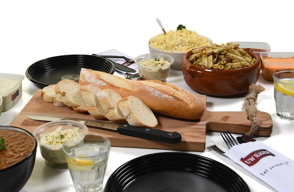 08. Stokbrood en knoflookboter