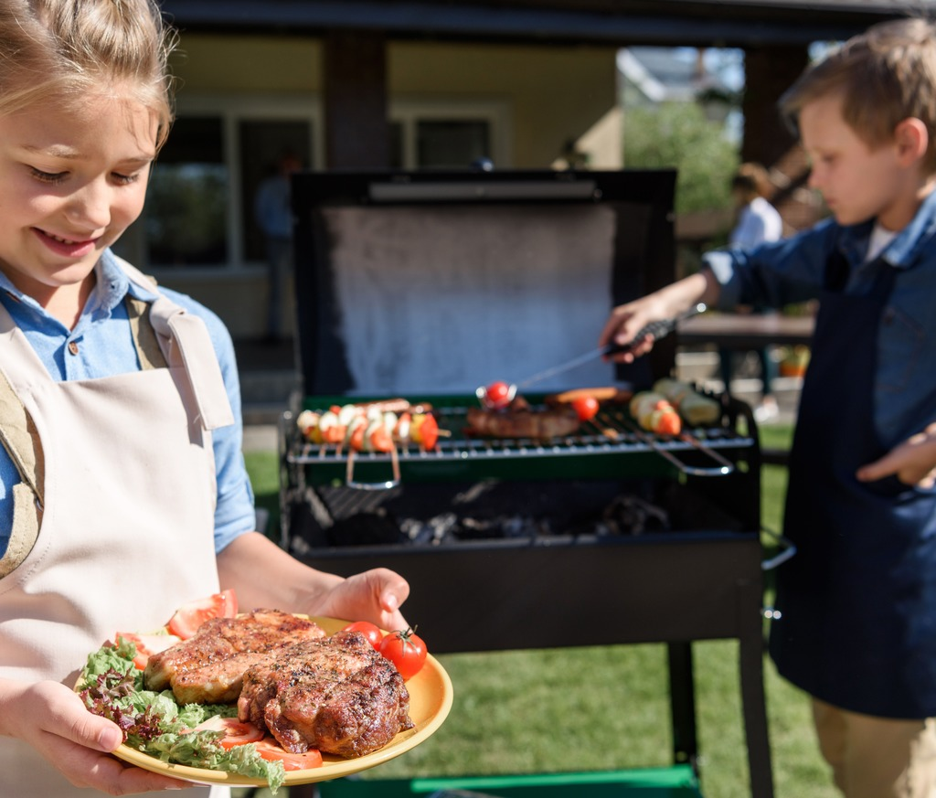Barbecue pakket Kids