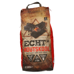 Houtskool ECHT 2,5 kg