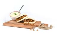 Shoarmapakket met broodjes en saus