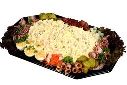 Luxe kartoffelsalade met spekjes