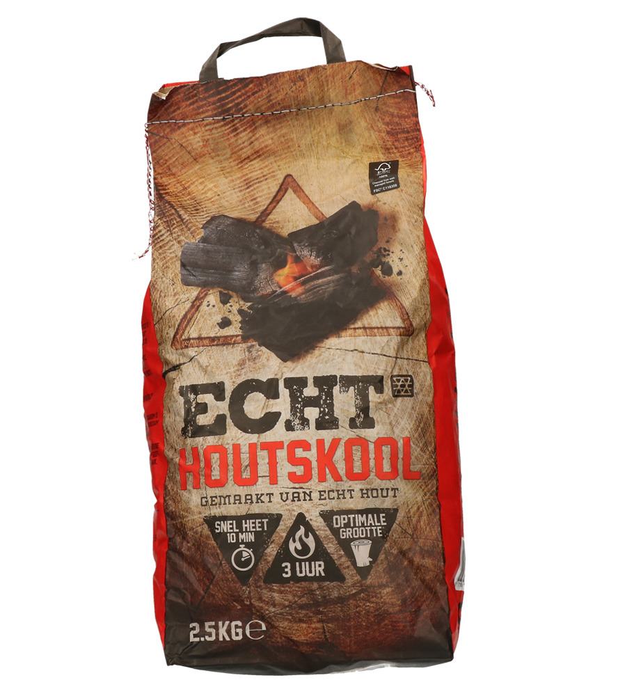 ECHT® Houtskool 2,5 kilo