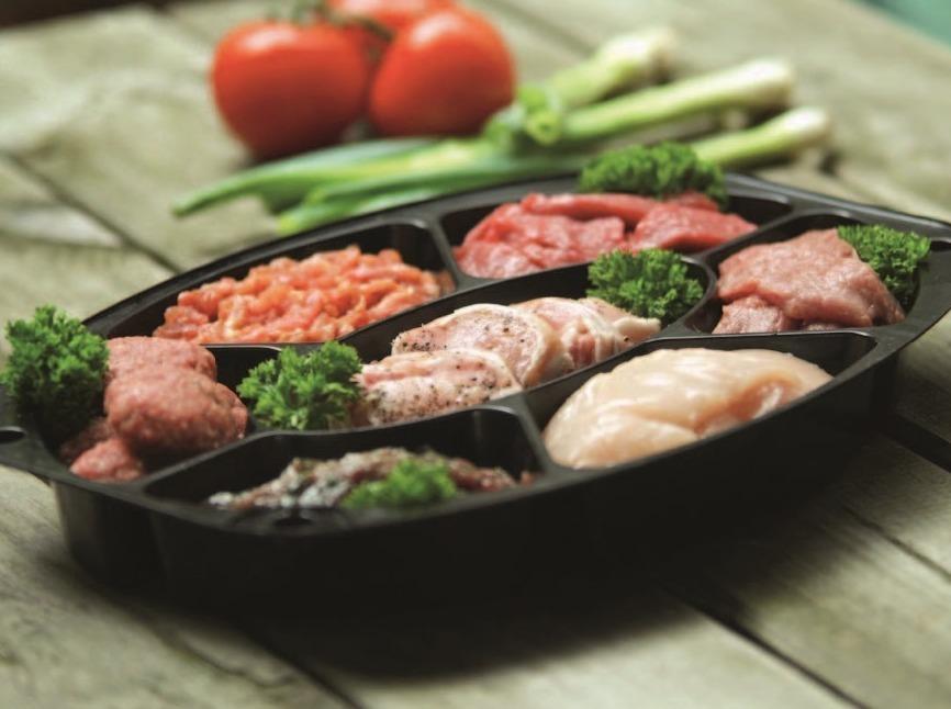 2. Gourmetschotel Fijnproevers