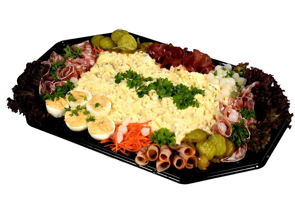 Opgemaakte Scharrel-ei salade