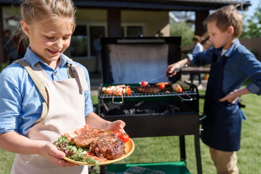 Barbecue pakket Kinder