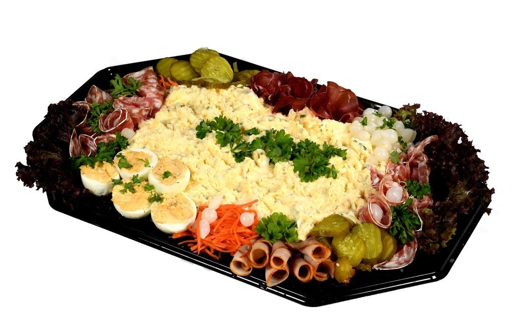 Scharrel - ei salade