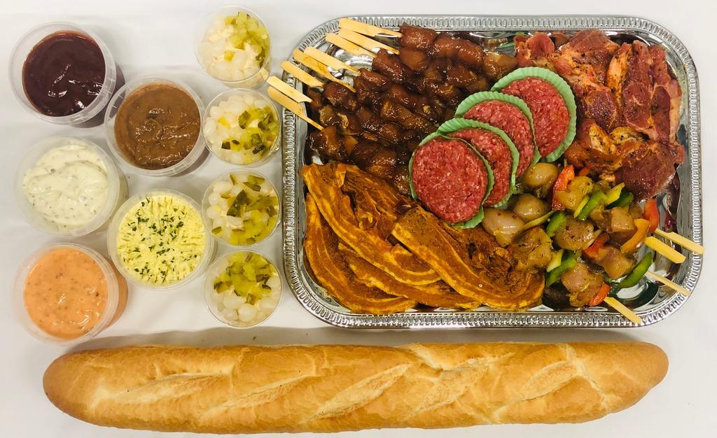 7. Barbecue menu Stroe