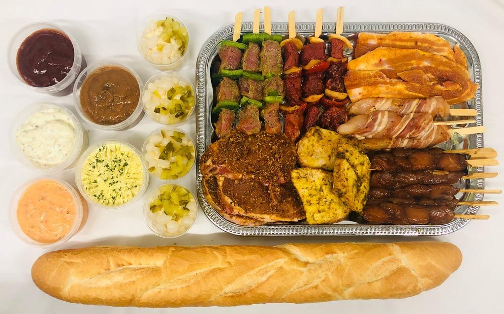 9. Barbecue menu Hoenderloo