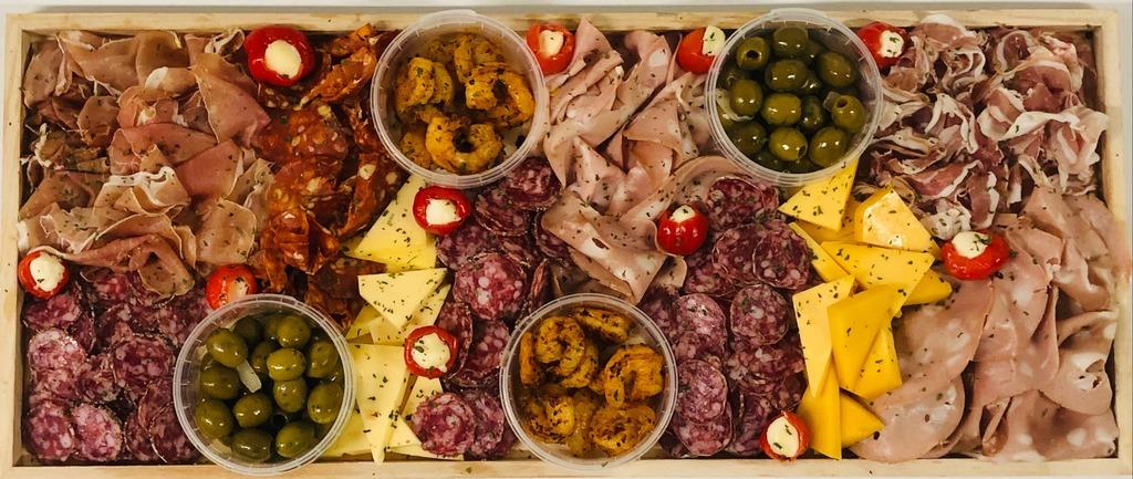 6. Spaanse vleeswarenplank