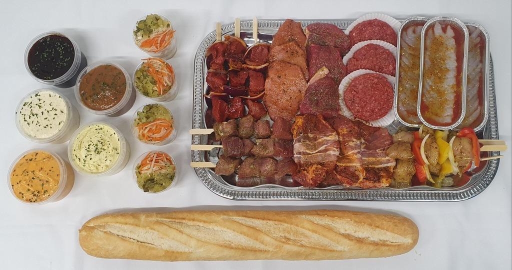 9.2. Barbecue menu Nieuw Milligen
