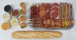 Barbecue menu Nieuw Millingen