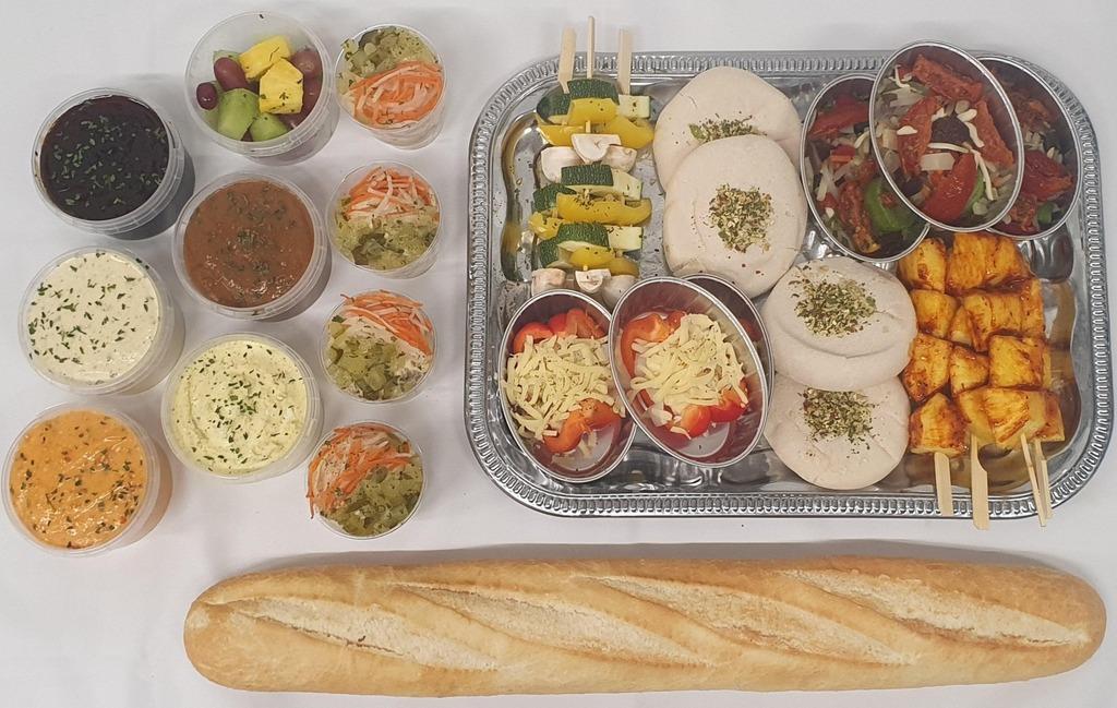 8. Barbecue menu Vegetarisch