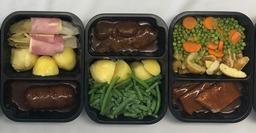 Aardappel, groenten & vlees