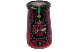 Barbecue pickles spicy onion