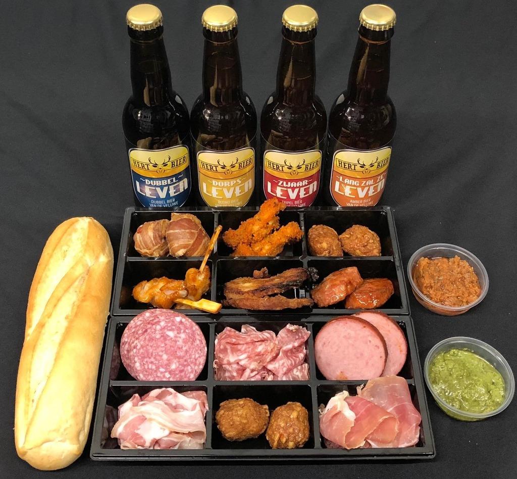 Hert bier borrelbox