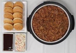 Partypan pulled pork