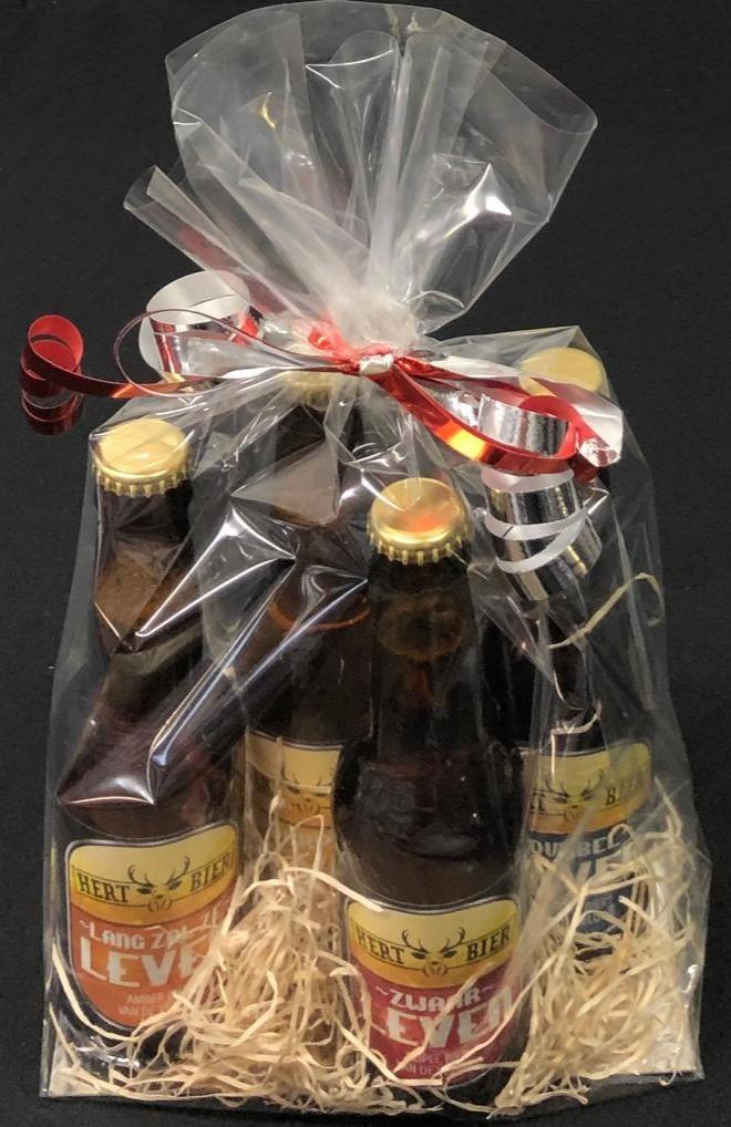 Hert bier pakketje