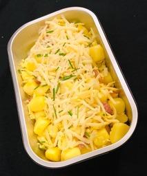Vier kazen aardappelgratin