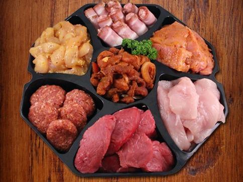 1. Gourmetschotel standaard