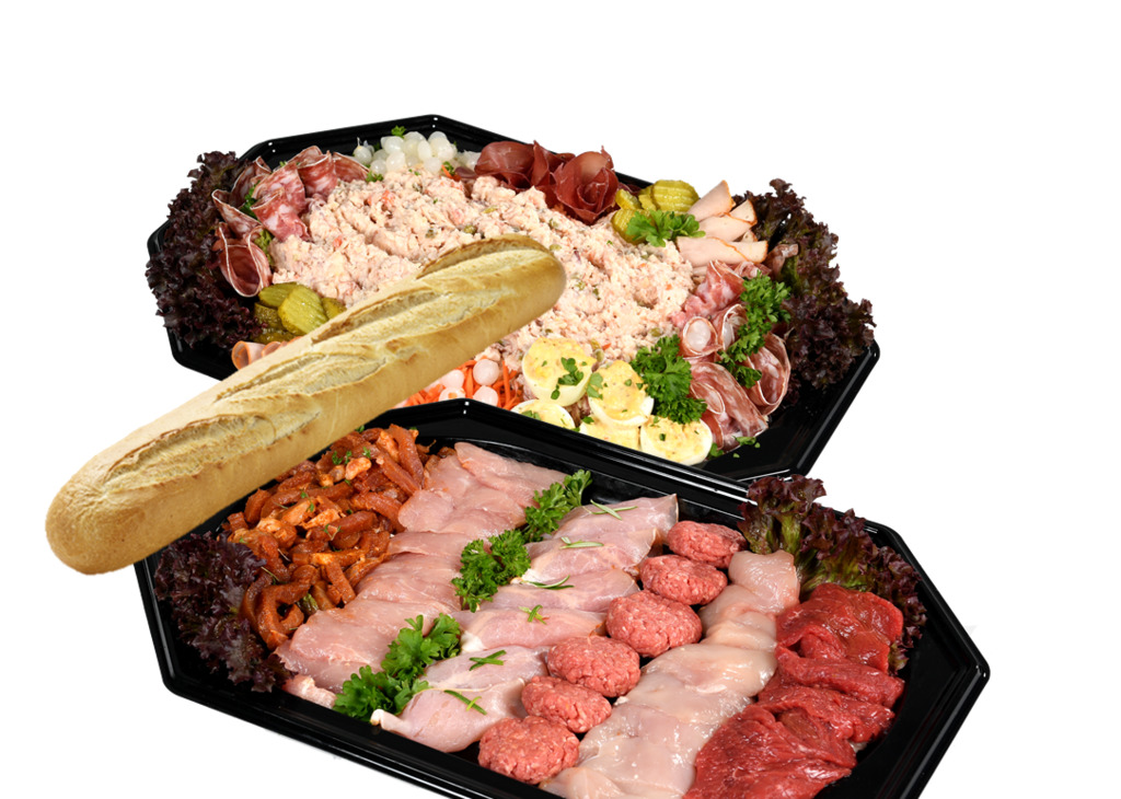6. Groepsbarbecue, vanaf 15 personen