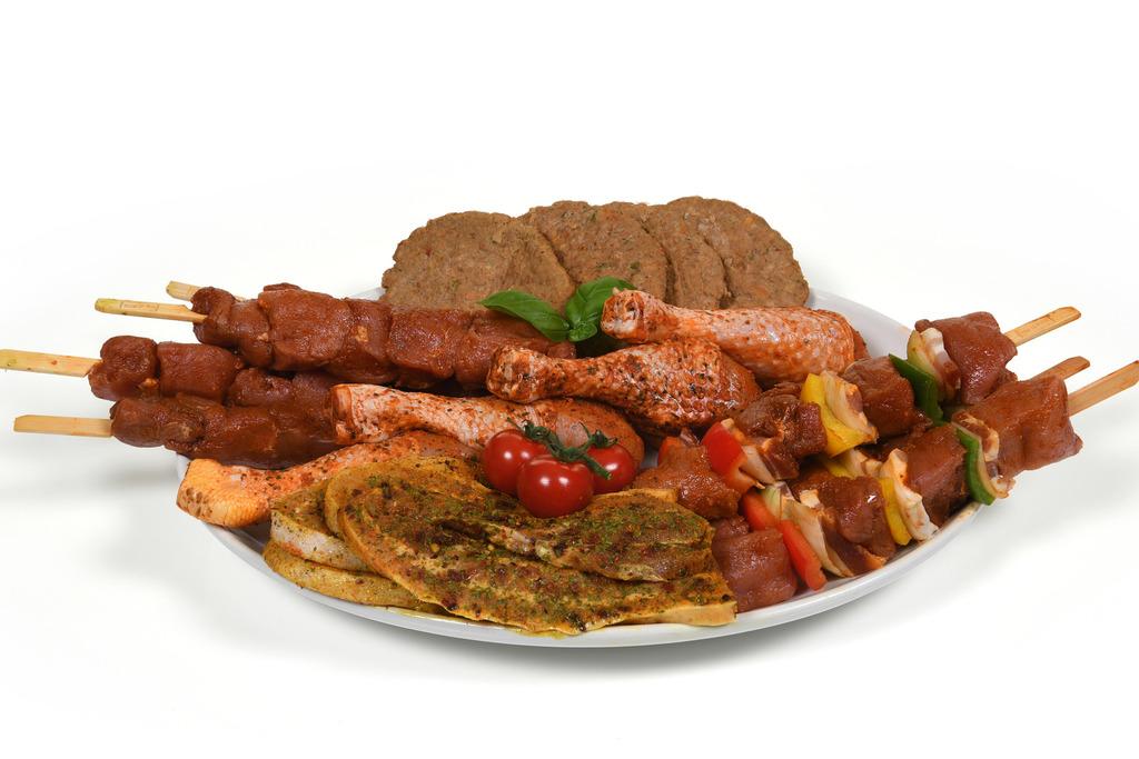1. BBQ menu populair