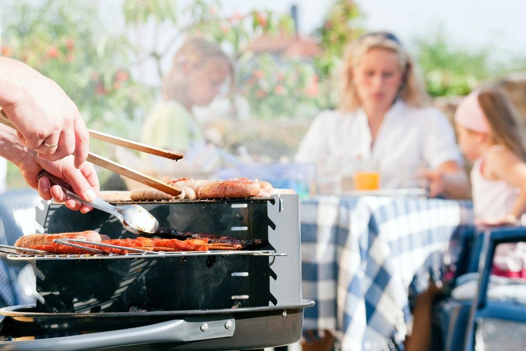 1. Barbecue 'van het huis'