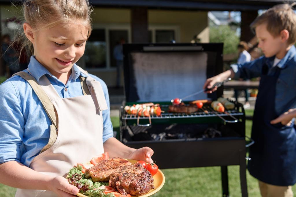 7. BBQ kids pakket
