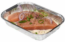 Chef's BBQ Selection Zalm in Witte wijn saus
