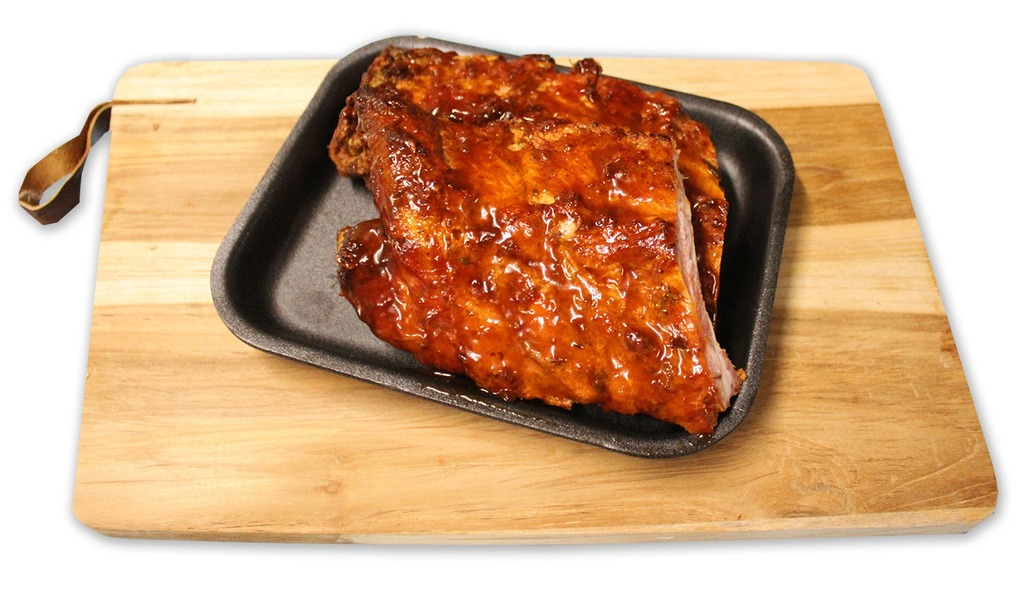 Gegrilde spare ribs