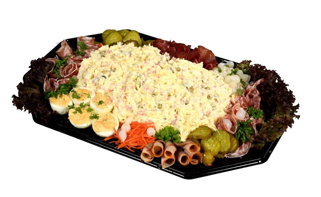 Huzaren salade schotel