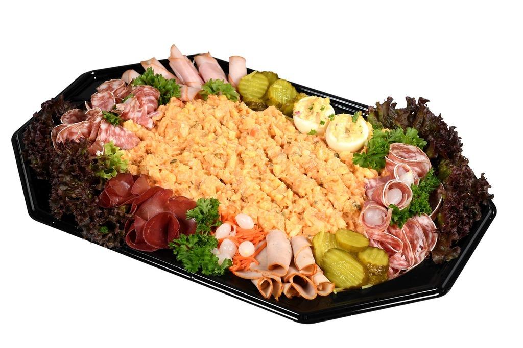 Zalm salade schotel ( 5-6 personen)