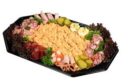 Zalm salade schotel