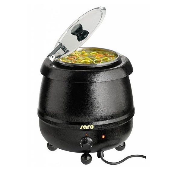 Huisgemaakte soep uit ketel