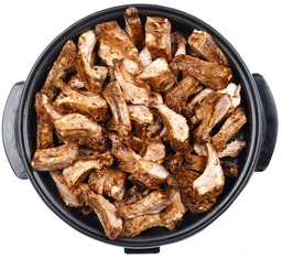 Party-pan spareribs