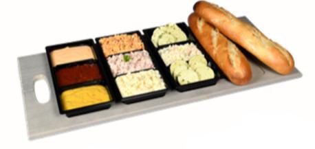 Gourmetschotel/fondue Vergeet mij niet!