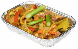 Chef's BBQ Selection Groenteschaaltje kip of vega (ei)
